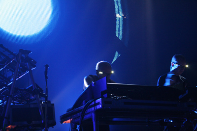 Orbital performing at Metamorphose.