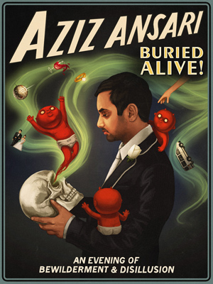 Buried Alive tour poster