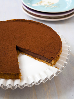 A Bittersweet Chocolate Truffle Tart from Flour.
