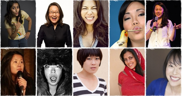 The women of Dis/orient/ed Comedy