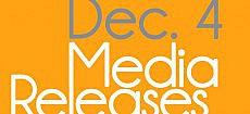 Media Releases, Dec. 4, 2012